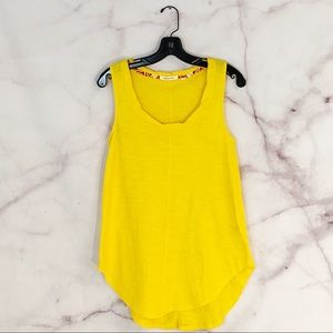 Anthropologie Pure + Good Yellow Gold Tank